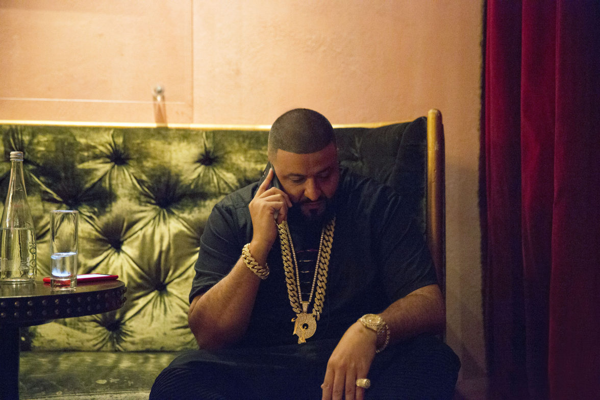 DJ Khaled Behind The Scenes Photoshoot Photo Credit: courtesy of Rocawear