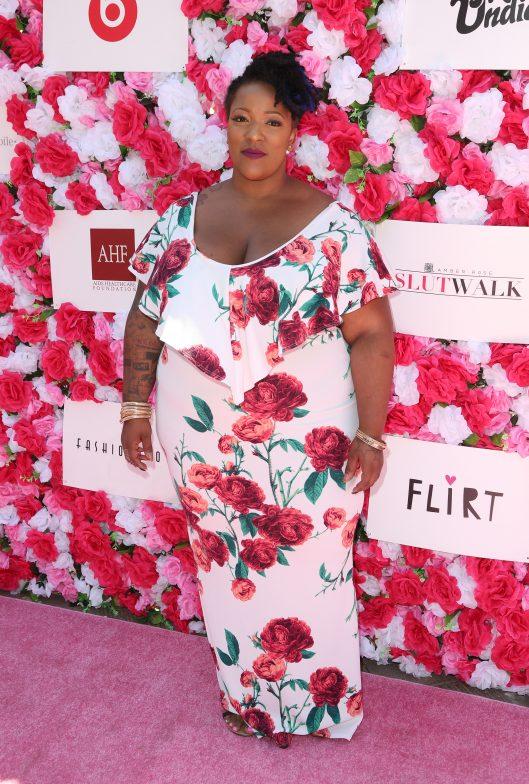 Frenchie Davis at The Amber Rose SlutWalk 2016    Credit: FayesVision/WENN.com