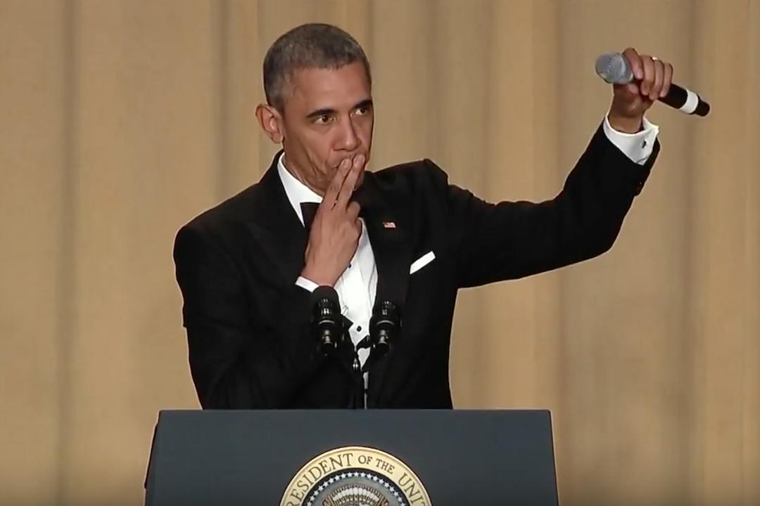 President Obama White House Correspondents' Dinner