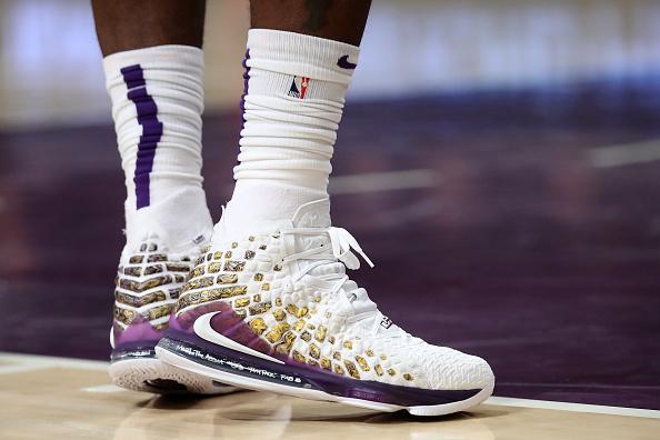 LeBron James Debuts New Lakers-Themed